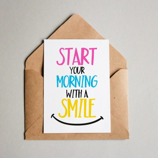 Start with a smile!