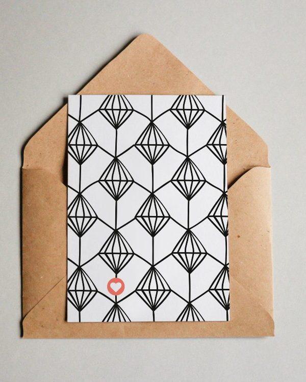 """Muster #004 """"Diamanten"""""""