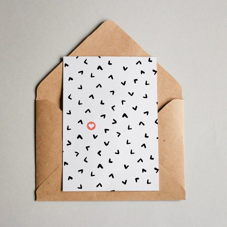 "Muster #013 ""Dreiecke"""