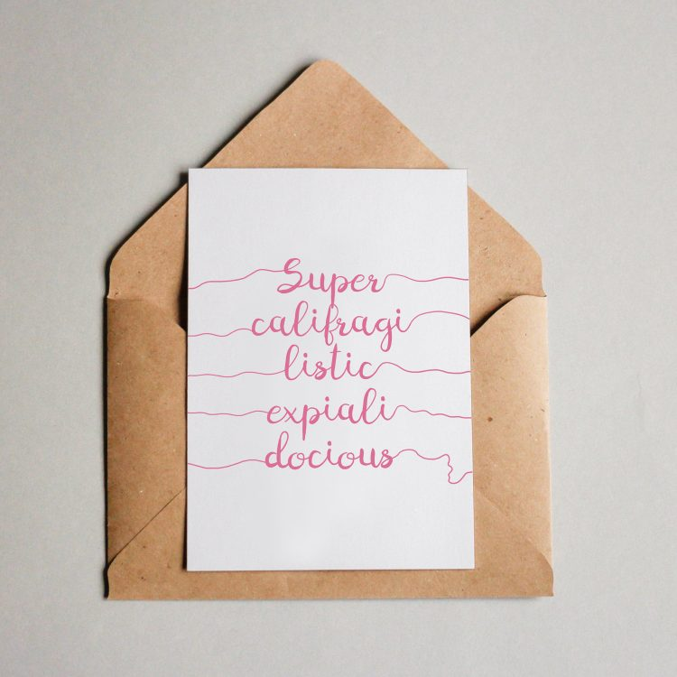 Supercalifragilistic