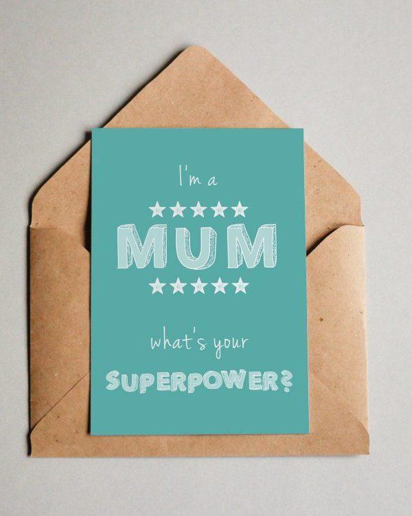 Superpower Mum