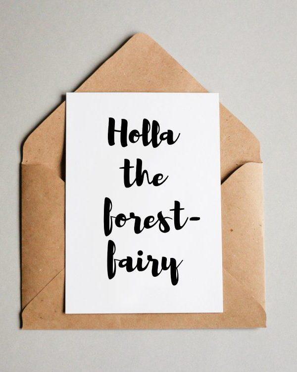 Holla die Waldfee