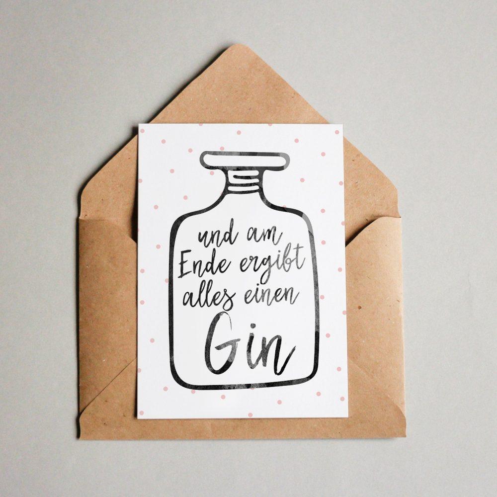 Und am Ende ergibt alles einen Gin